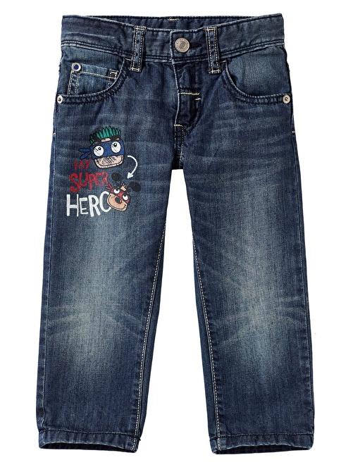 012 Benetton Pantolon İndigo
